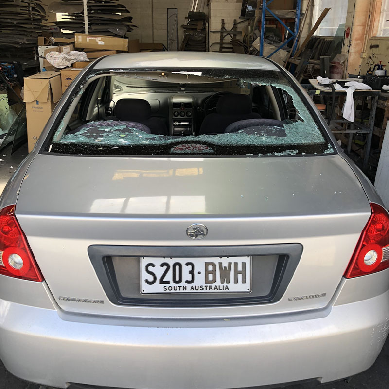 Non security window tinting vehicle